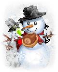 snowman want meat