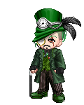 I Am Green Top Hat