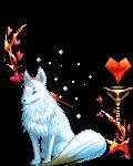 snowy white wolf