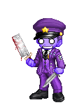 The Purple Man is Here