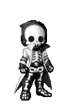 look a skeleton