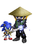 Minato Uzumaki and Sonic