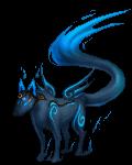 Paradise Blue Wolf